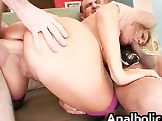 big wazoo blond mother i gets her wazoo drilled