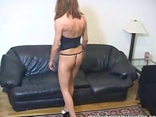 masturbation instructor teases by exercising