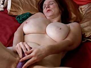mature and electric dildo. real pervert