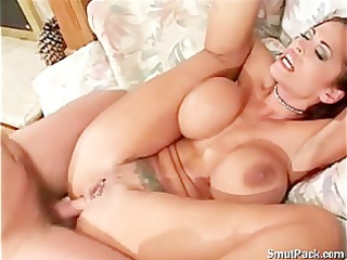 big tit girl receive an anal screwed
