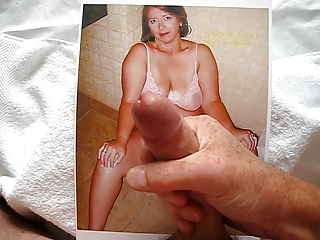 tribute to voicu6s mommy with ejaculation by