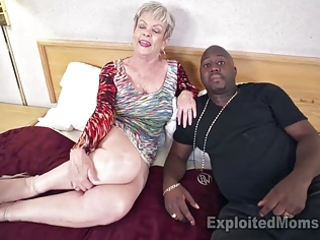 breasty granny in creampie video