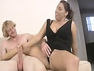 mom and not her daughter share knob
